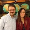 Jana Martin and Greg Olear