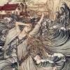 Selkie by Arthur Rackham