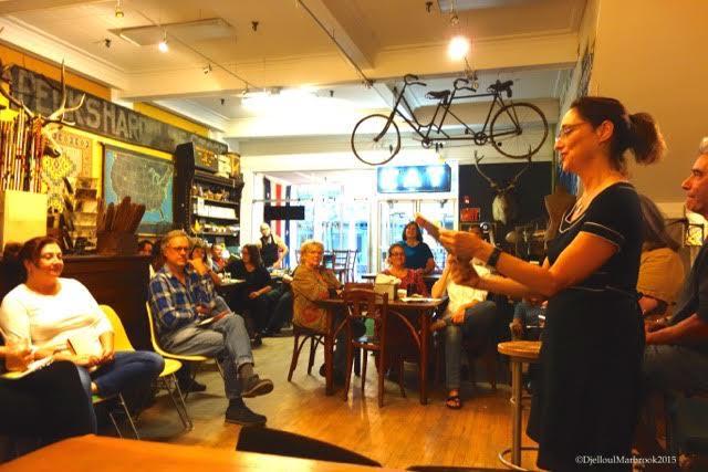 word cafe barbara ungar reading